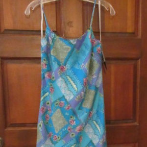 NEW MY MICHELLE TURQUOISE LONG DRESS Size 11/12